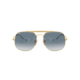 RB RB3561 The General Sunglasses Gold//Blue Gradient 57mm /& Care Kit