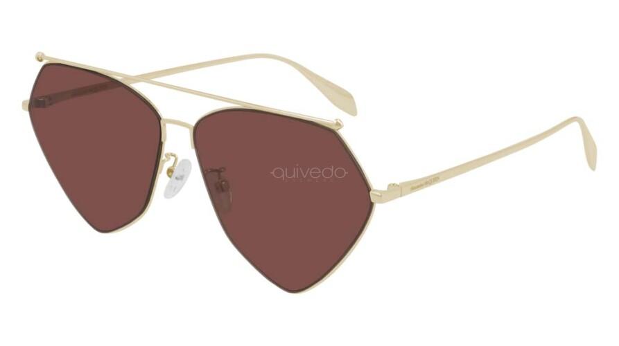 Occhiali da Sole Unisex Alexander McQueen Rebellion AM0317S-002