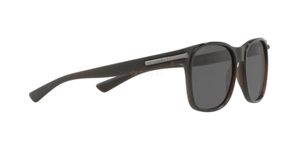 Sunglasses Bvlgari BV 7033 112387 TOP BLACK ON MATTE GREY