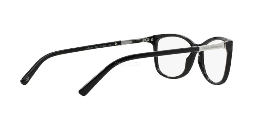 Occhiali da Vista Donna Dolce & Gabbana Logo plaque DG 3107 501