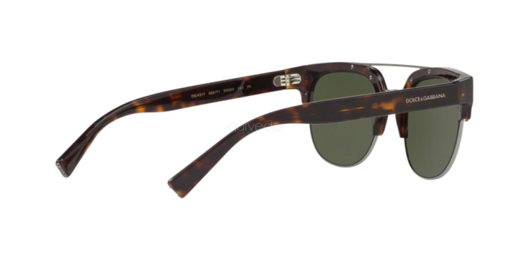 Occhiali da Sole Uomo Dolce & Gabbana  DG 4317 502/71