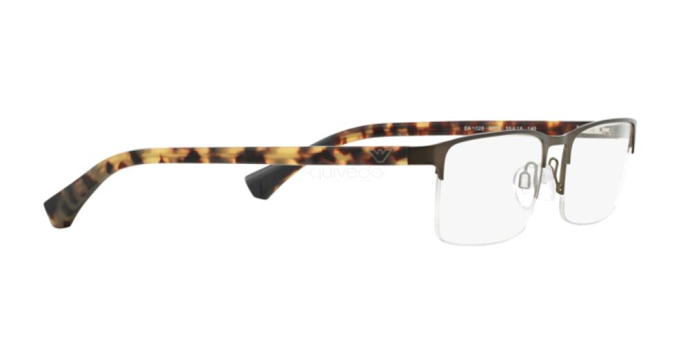 Occhiali da Vista Uomo Emporio Armani  EA 1028 3009