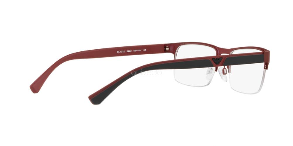 Occhiali da Vista Uomo Emporio Armani  EA 1072 3222