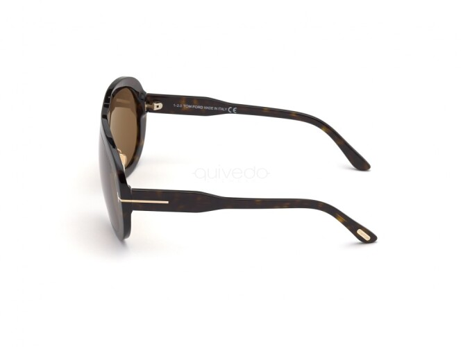 Occhiali da Sole Unisex Tom Ford Troy FT0836 52E