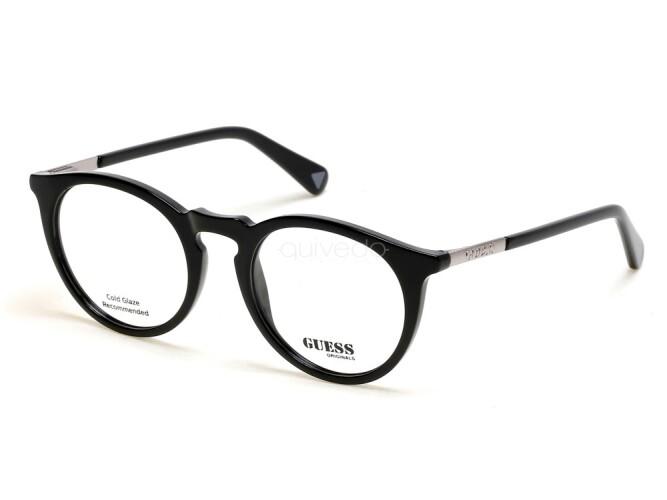 Occhiali da Vista Unisex Guess  GU8236 001