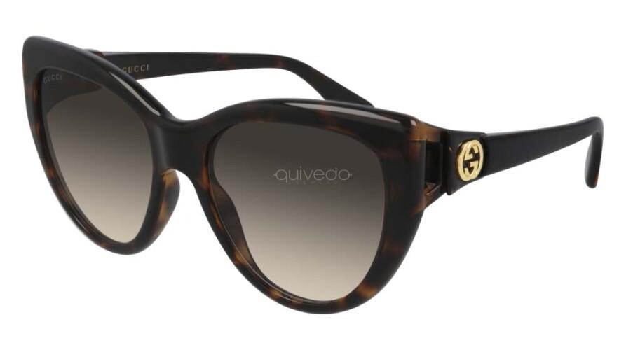 Occhiali da Sole Donna Gucci Gucci logo GG0877S-002