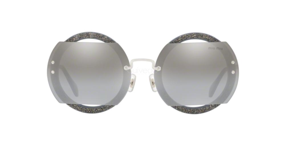 New Miu Miu 0MU 06 SS C8O1A0 GREY Sunglasses