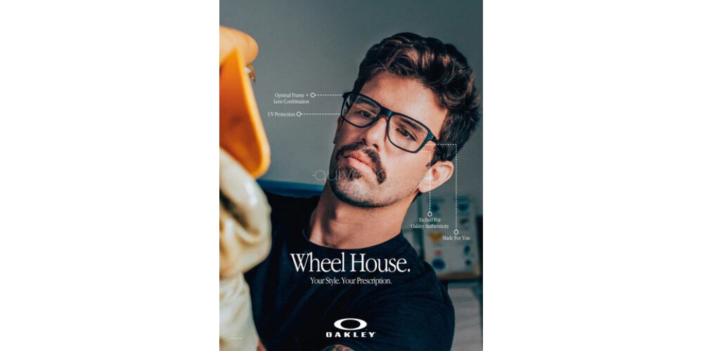 Occhiali da Vista Uomo Oakley Wheel house OX 8166 816601