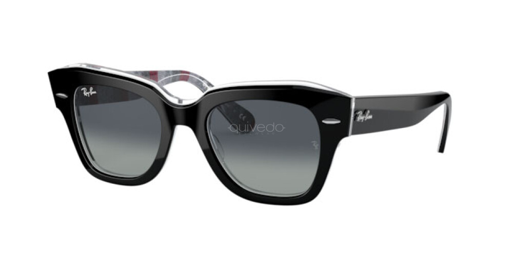 Occhiali da Sole Unisex Ray-Ban State street Color Mix RB 2186 13183A