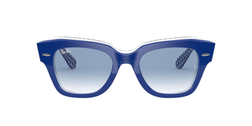 Occhiali da Sole Unisex Ray-Ban State street Color Mix RB 2186 13193F