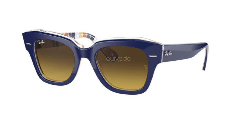 Occhiali da Sole Unisex Ray-Ban State street Color Mix RB 2186 132085