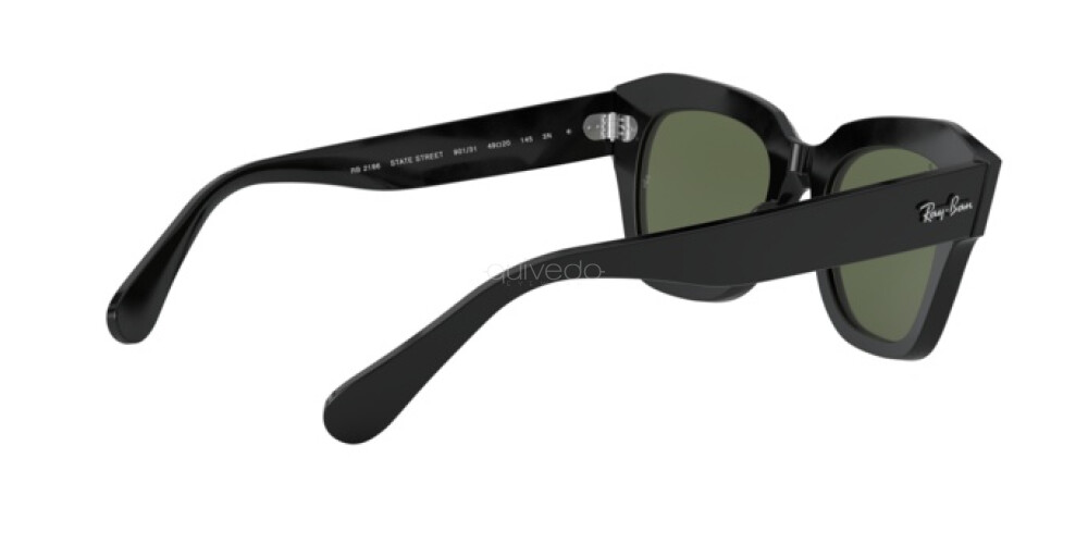 Occhiali da Sole Unisex Ray-Ban State street RB 2186 901/31