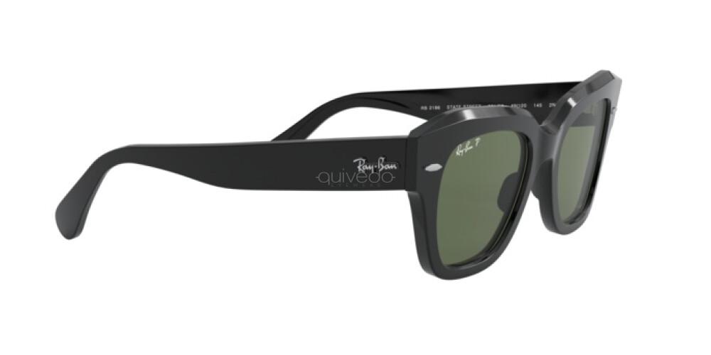 Occhiali da Sole Unisex Ray-Ban State street RB 2186 901/58