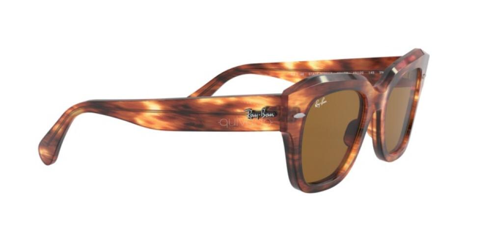 Occhiali da Sole Unisex Ray-Ban State street RB 2186 954/33