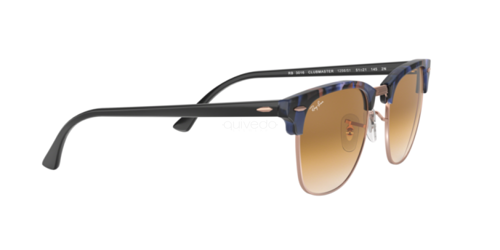Occhiali da Sole Unisex Ray-Ban Clubmaster RB 3016 125651