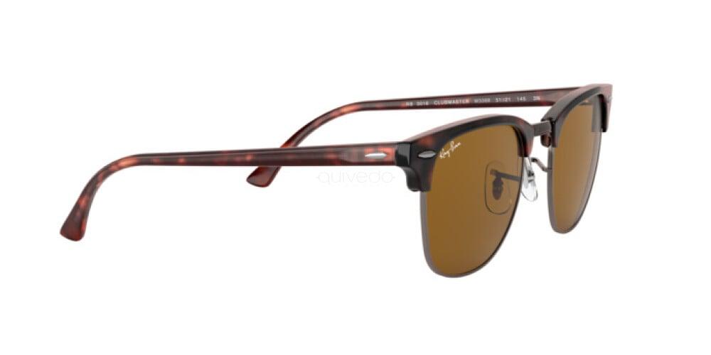 Occhiali da Sole Unisex Ray-Ban Clubmaster RB 3016 W3388