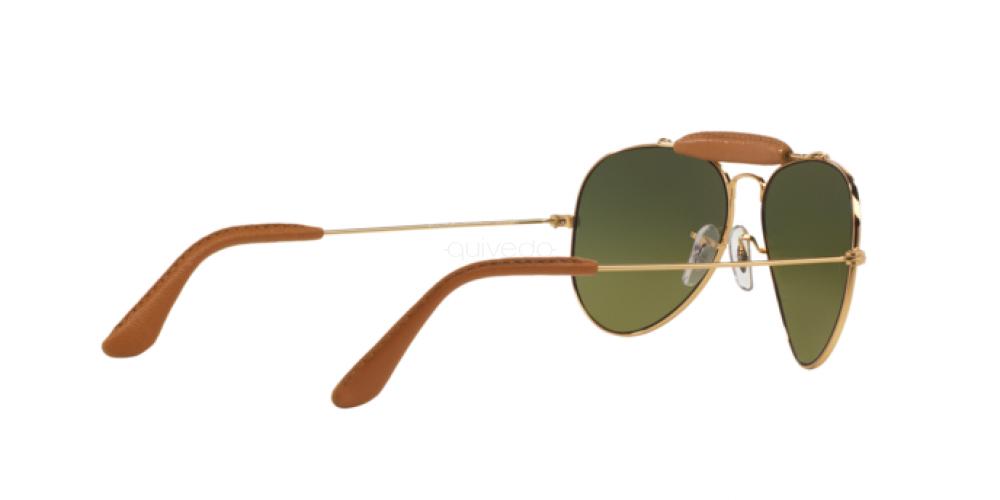 Occhiali da Sole Unisex Ray-Ban Aviator craft RB 3422Q 001/M9