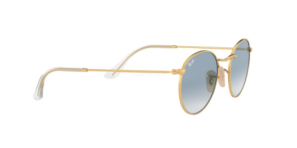 Occhiali da Sole Unisex Ray-Ban Round metal RB 3447N 001/3F
