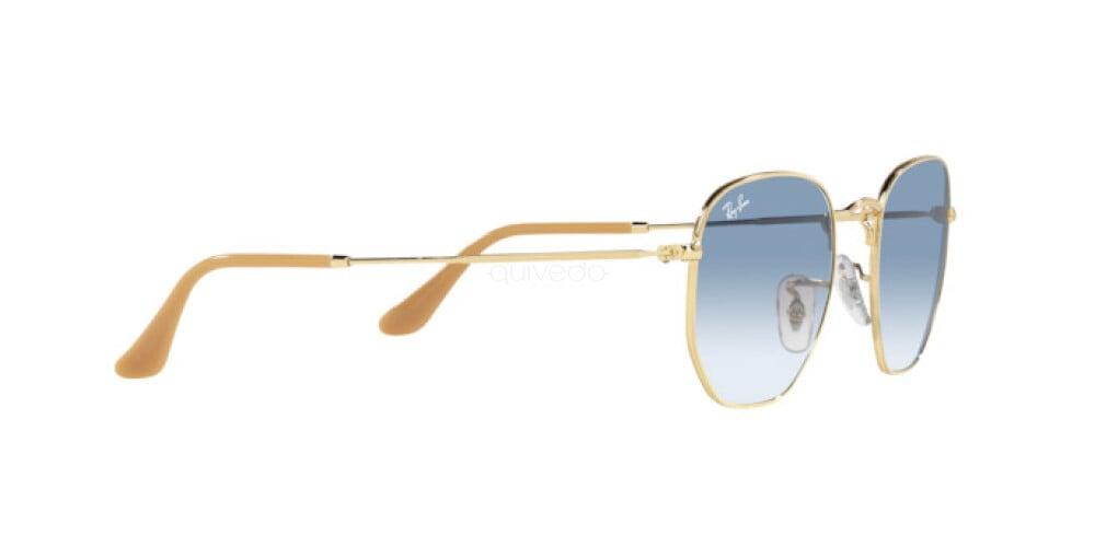 Occhiali da Sole Unisex Ray-Ban Hexagonal RB 3548 001/3F