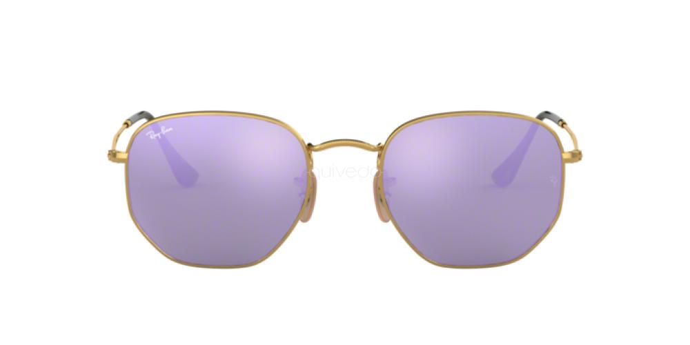 Occhiali da Sole Unisex Ray-Ban Hexagonal RB 3548N 001/8O