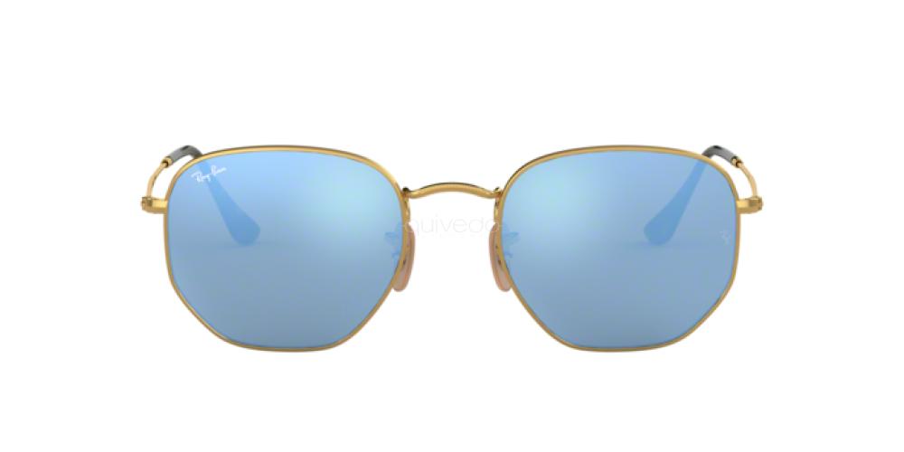 Occhiali da Sole Unisex Ray-Ban Hexagonal RB 3548N 001/9O