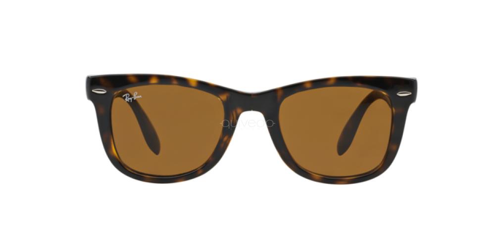 ray ban 4105 folding wayfarer sunglasses 710