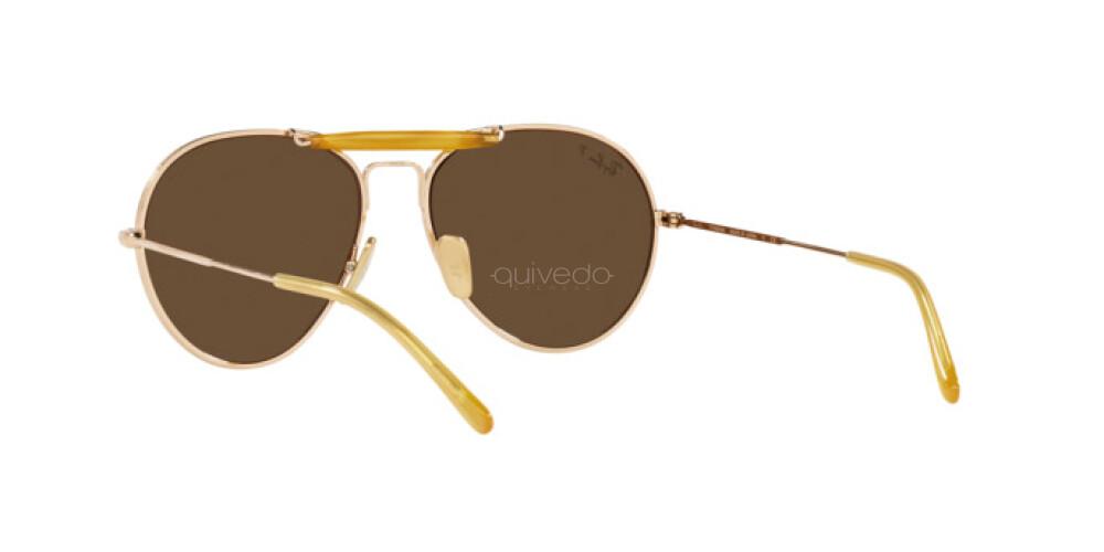 Occhiali da Sole Unisex Ray-Ban Titanium Chromance RB 8063 9205AN