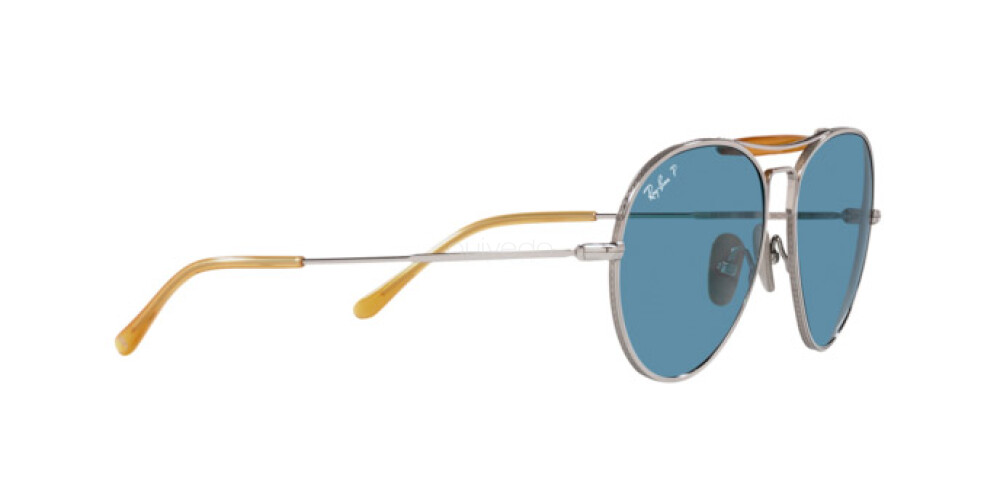 Occhiali da Sole Unisex Ray-Ban Titanium Chromance RB 8063 9209S2