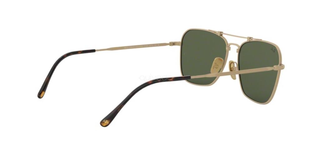 Occhiali da Sole Unisex Ray-Ban Caravan Titanium RB 8136 913658