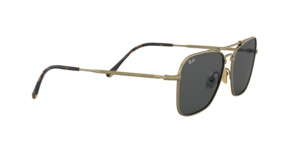 Occhiali da Sole Unisex Ray-Ban Caravan Titanium RB 8136 913757