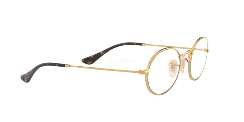 Occhiali da Vista Unisex Ray-Ban Oval RX 3547V 2500