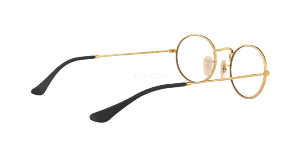 Occhiali da Vista Unisex Ray-Ban Oval RX 3547V 2991