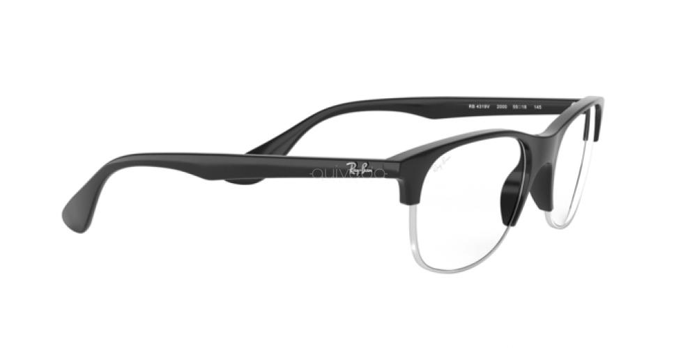 Occhiali da Vista Unisex Ray-Ban  RX 4319V 2000