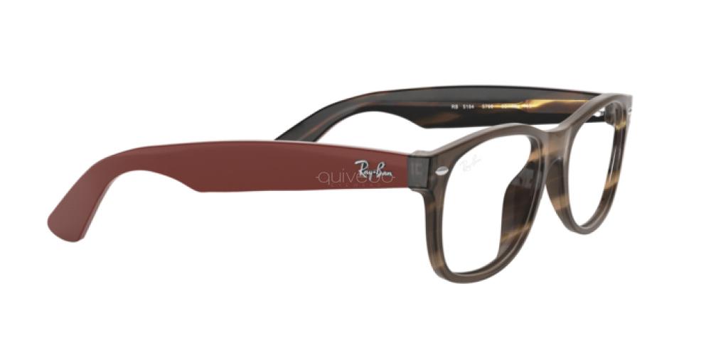 Occhiali da Vista Unisex Ray-Ban New wayfarer RX 5184 5798