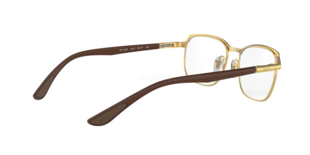 Occhiali da Vista Unisex Ray-Ban  RX 6420 2917