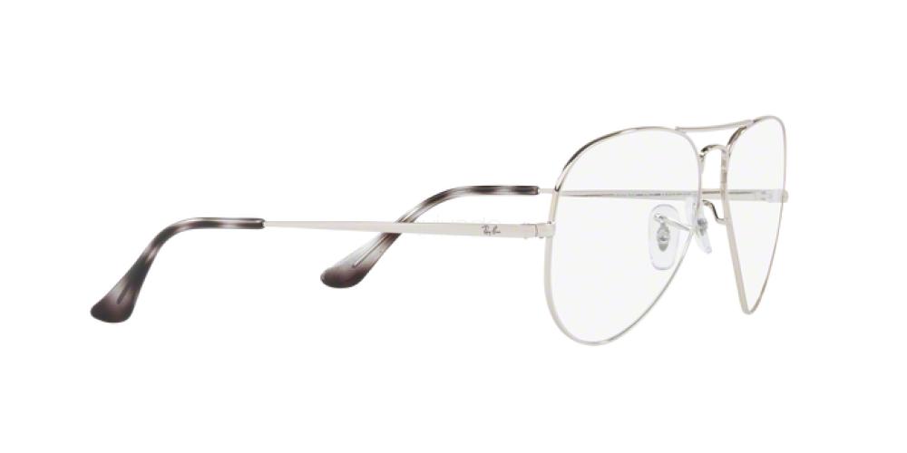 Occhiali da Vista Unisex Ray-Ban Aviator RX 6489 2501