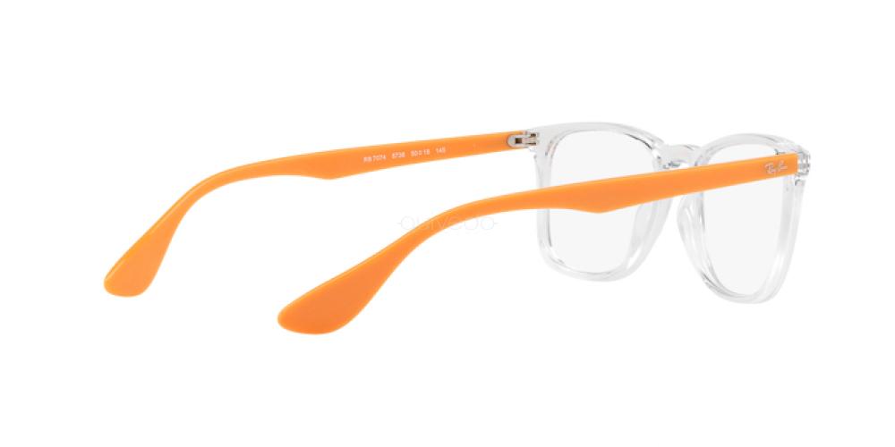 Occhiali da Vista Unisex Ray-Ban  RX 7074 5736