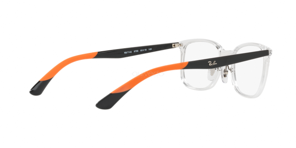 Occhiali da Vista Unisex Ray-Ban  RX 7142 5759