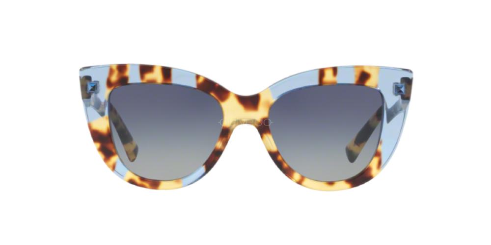 Sunglasses Valentino VA 4025 505813 HAVANA INSERTS OPAL RED
