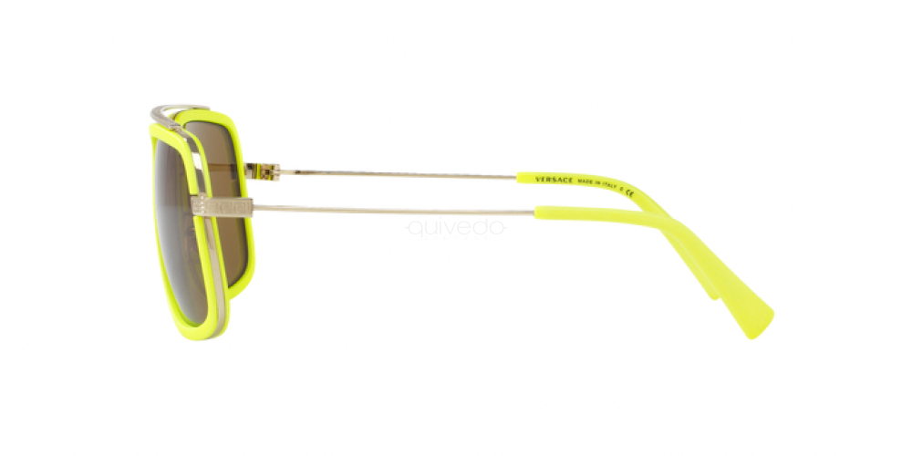 Sunglasses Versace VE 2173 139473 PALE GOLD//FLUO YELLOW