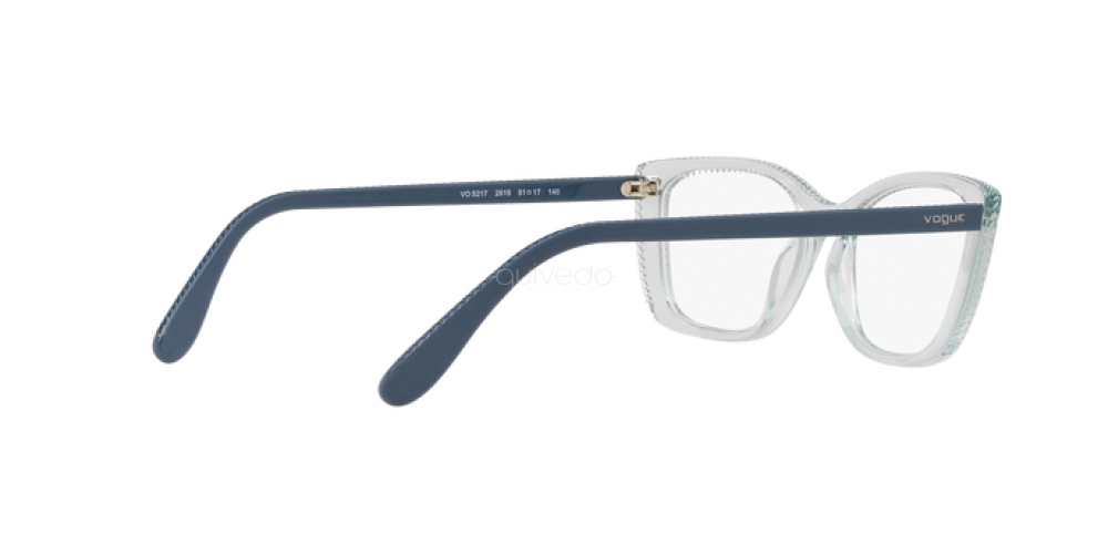 Eyeglasses Vogue VO 5217 2616 TRANSPARENT AZURE