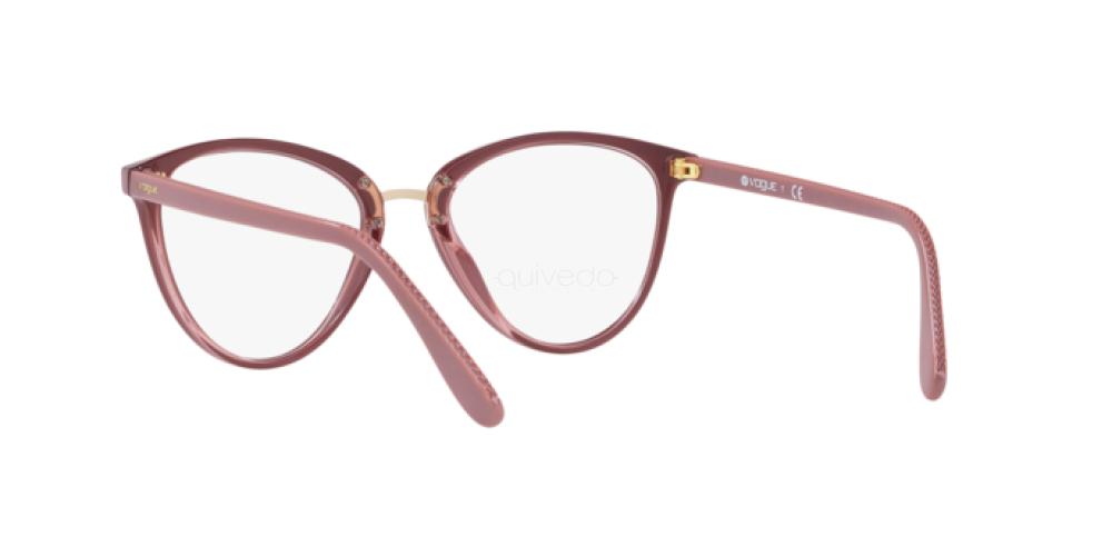 Eyeglasses Vogue VO 5259 2554 TOP ANTIQUE PINK//PINK TRANSP