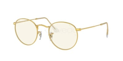 Ray-Ban Round Metal Everglasses Clear Evolve RB 3447 (9196BL)
