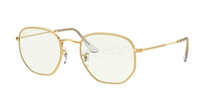 Ray-Ban Hexagonal Everglasses Clear RB 3548 (9196BF)