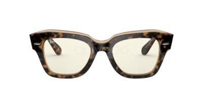 Ray-Ban State street Everglasses Clear RB 2186 (1292BL)