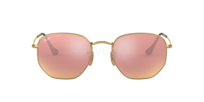 Ray-Ban Hexagonal Flat Lenses RB 3548N (001/Z2)