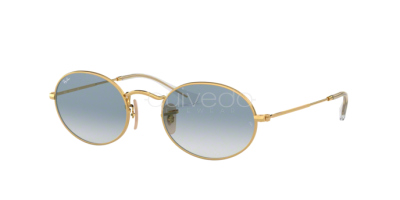 Ray-Ban Oval Flat Lenses RB 3547N (001/3F)