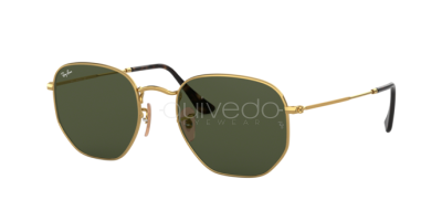 Ray-Ban Hexagonal Flat Lenses RB 3548N (001)
