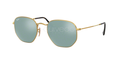 Ray-Ban Hexagonal Flat Lenses RB 3548N (001/30)