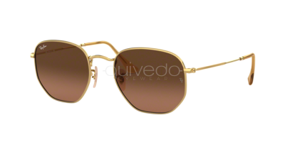 Ray-Ban Hexagonal Flat Lenses RB 3548N (912443)